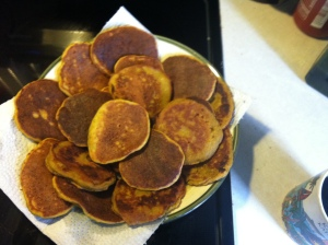 Sweet Potato and Russet Potato Pancakes