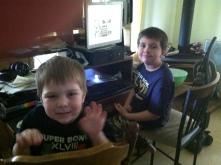 Logan and Brendan