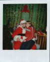 Erica and Santa